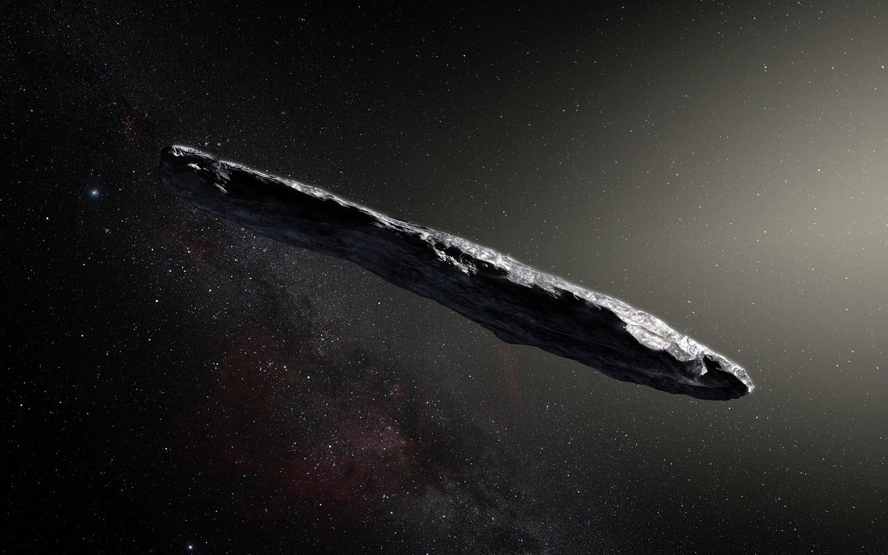 Cosmic rays erode away all but the largest interstellar objects