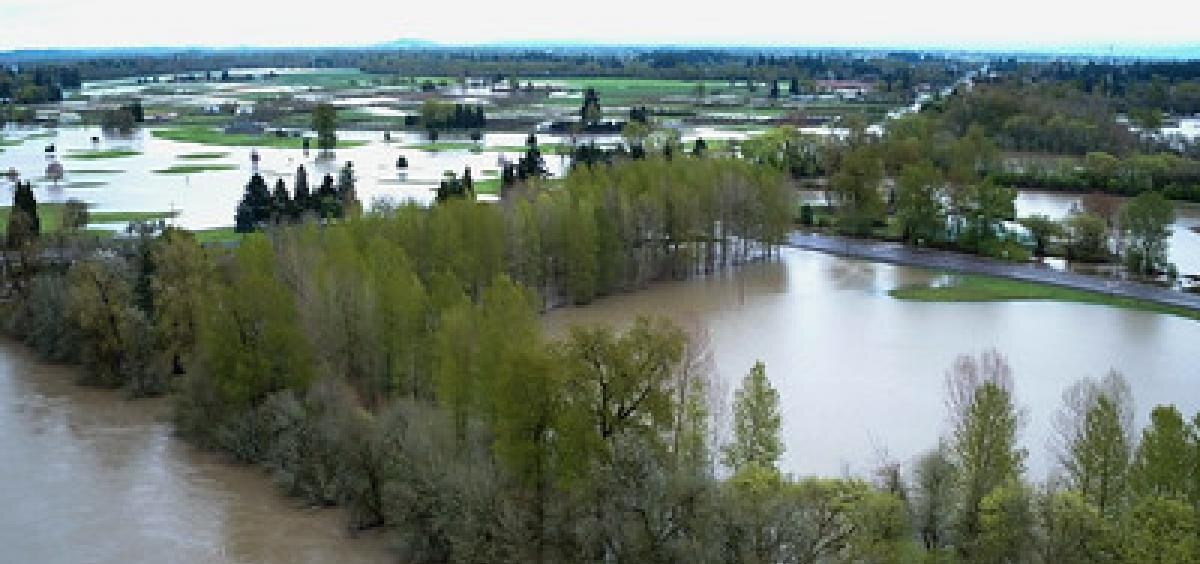 Flooding in the Columbia River basin expected to increase under climate change