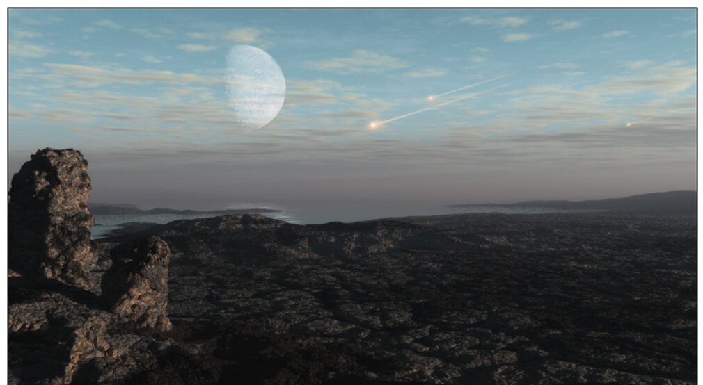 How asteroid, comet strikes may have delayed evolution of the atmosphere
