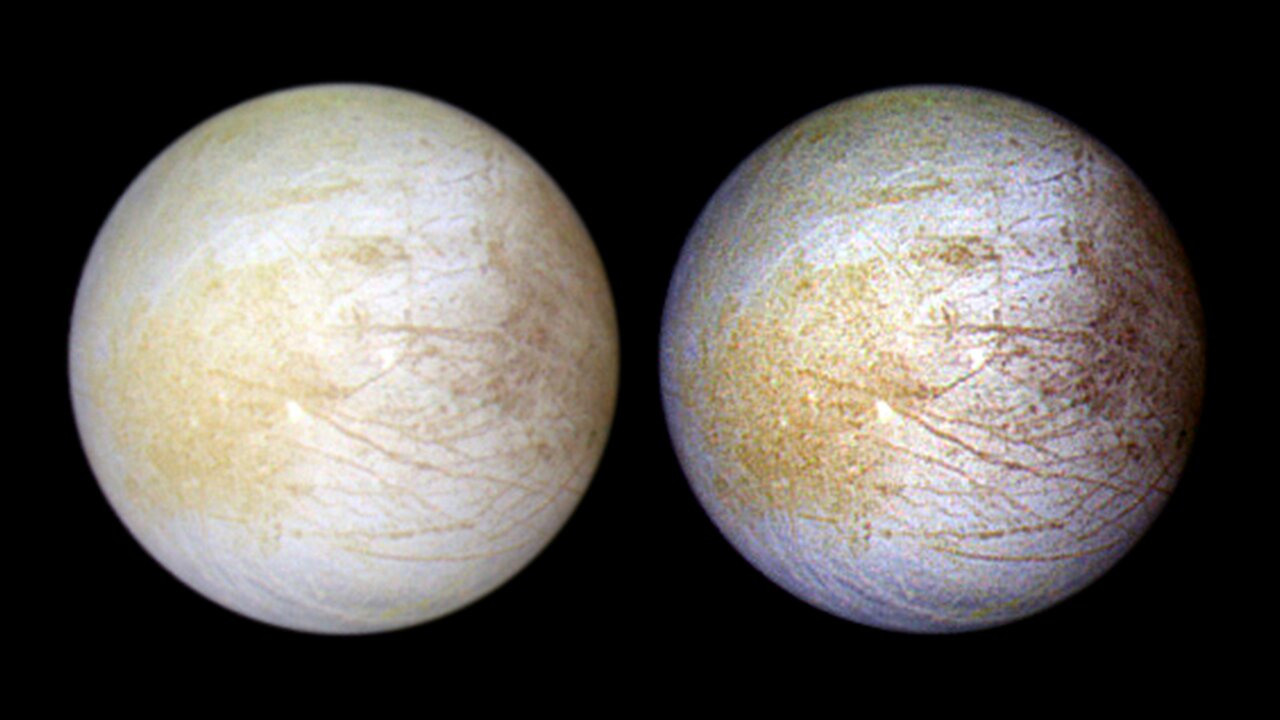Hubble finds evidence of persistent water vapor in one hemisphere of Europa