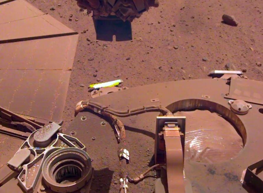 InSight Mars lander gets a power boost