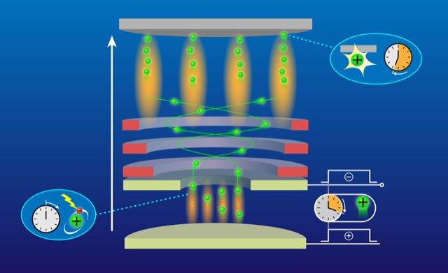 Ion-optics-based quantum microscope can image individual atoms