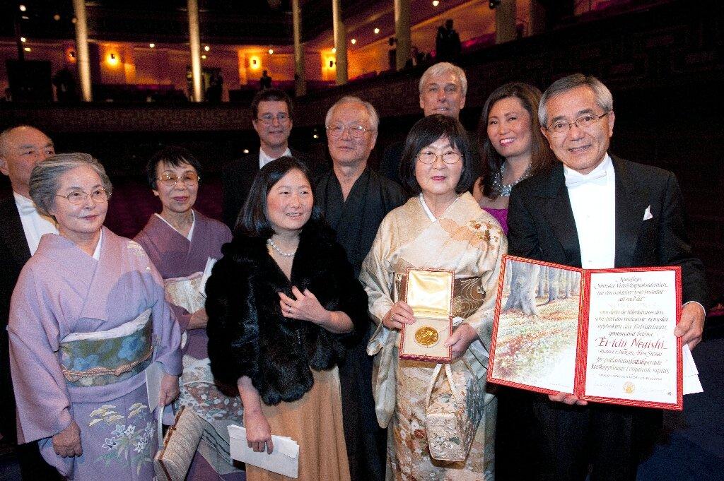 Nobel-winning Japanese chemist dies at 85