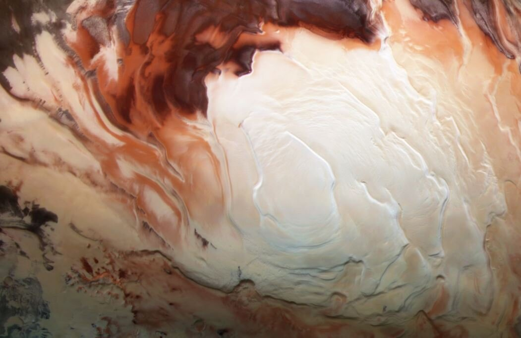 'Lakes' under Mars' south pole: A muddy picture?