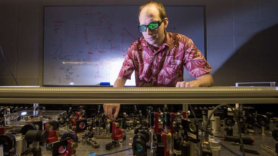 phys.org - Science X staff - Laser research to boost deep space missions