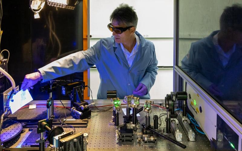 Laser treatment shows potential for reducing industrial chemical processing for vehicles