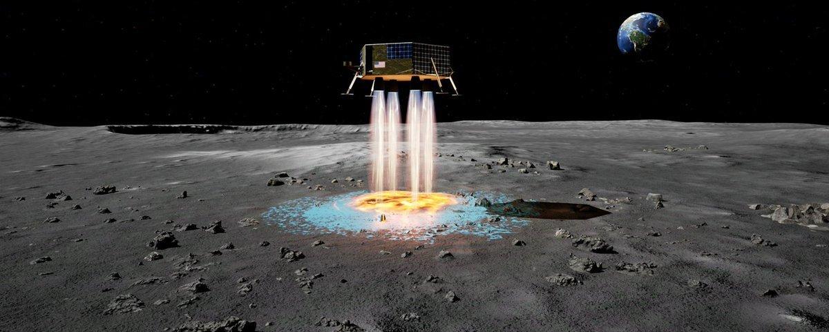 Měsíc, přistání sondy