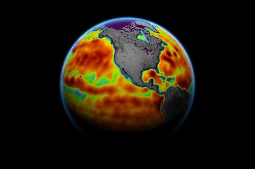 Major ocean-observing satellite starts providing science data