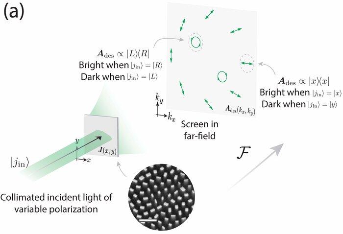 Metasurfaces control polarized light at will