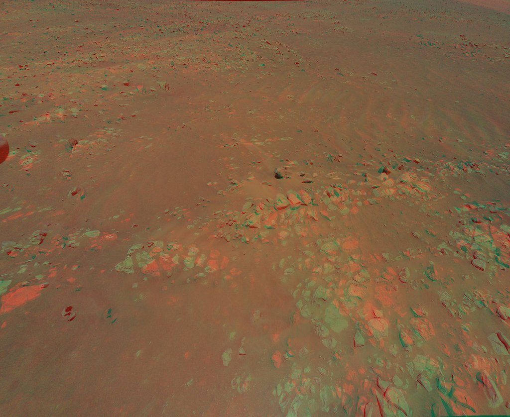 My favorite Martian image: Helicopter scouts ridge area for Perseverance - Phys.org