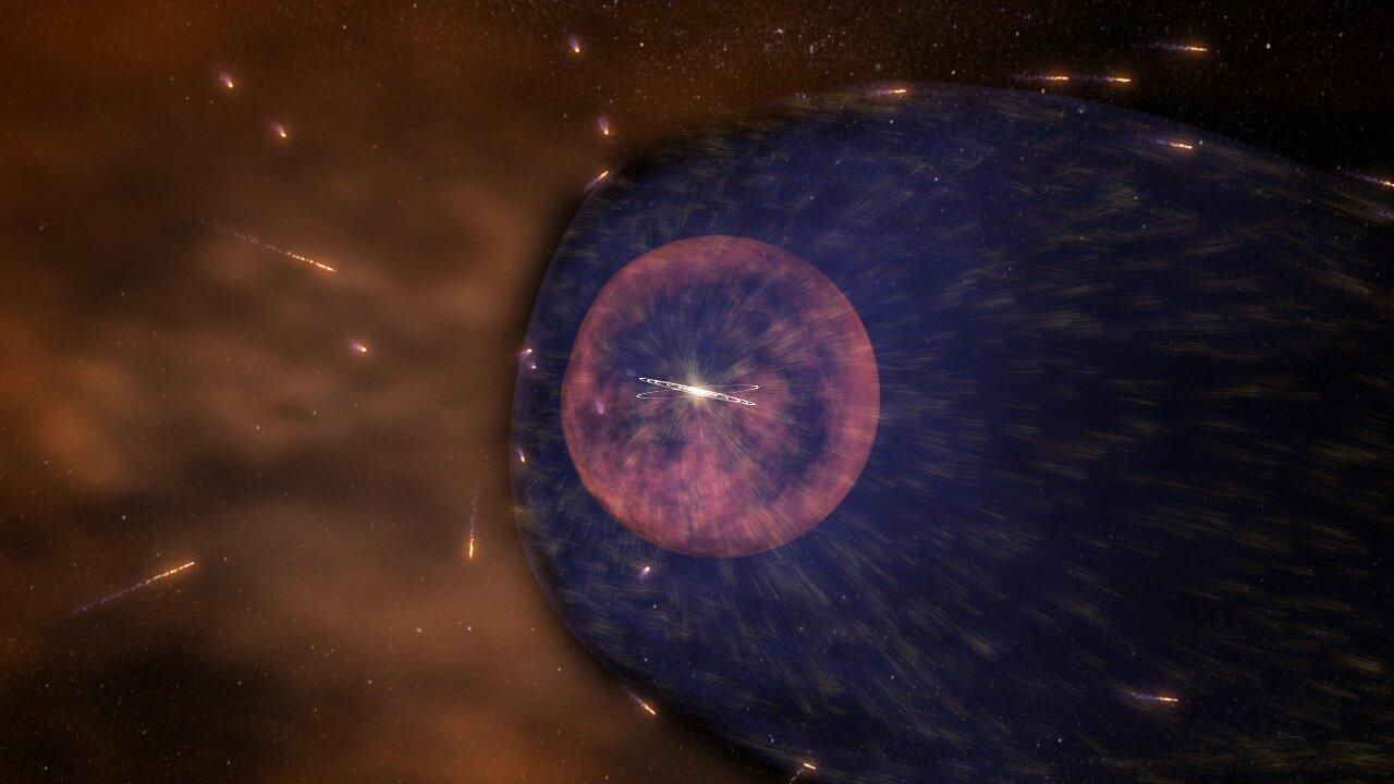 NASA rocket to survey the solar system's windshield