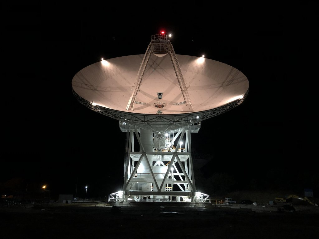 NASA's deep space network welcomes a new dish to the family