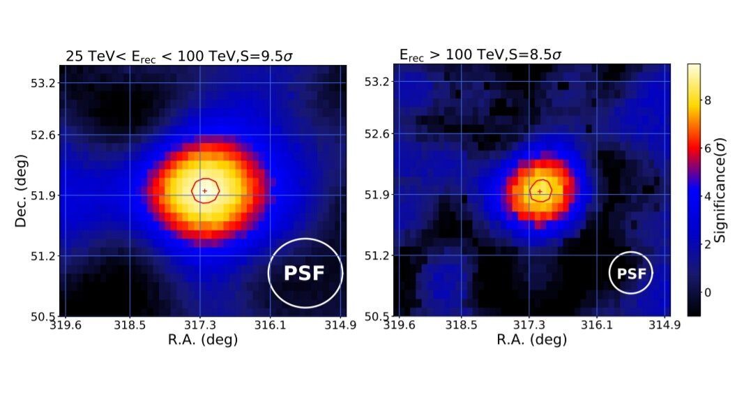 Обнаружен новый источник гамма-излучения сверхвысокой энергии