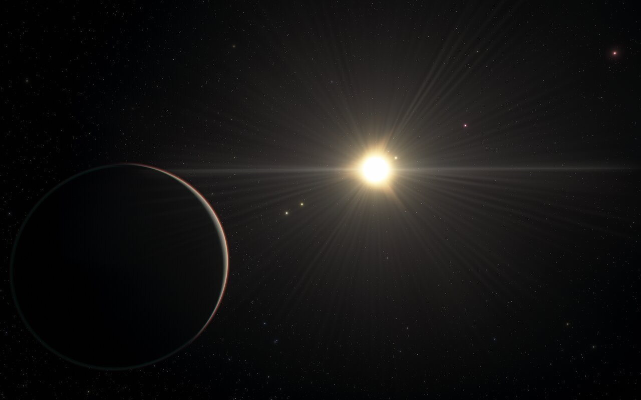Puzzling six-exoplanet system with rhythmic movement challenges theories of how planets form