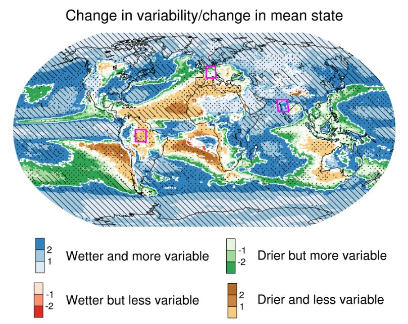 Rainfall becomes increasingly variable as climate warms