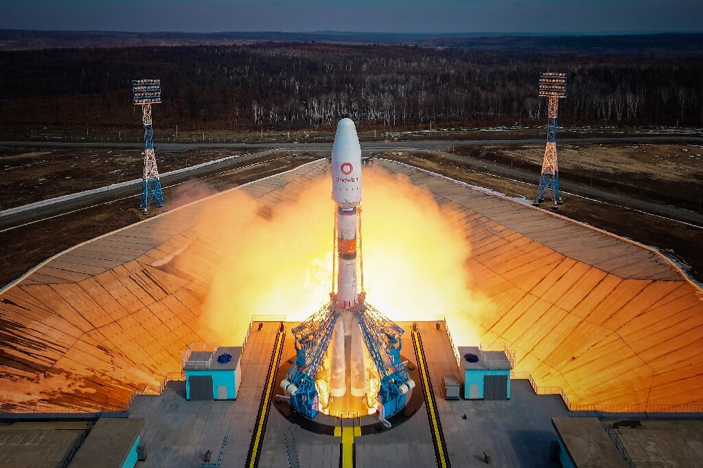 Russia launches more UK telecom satellites into space