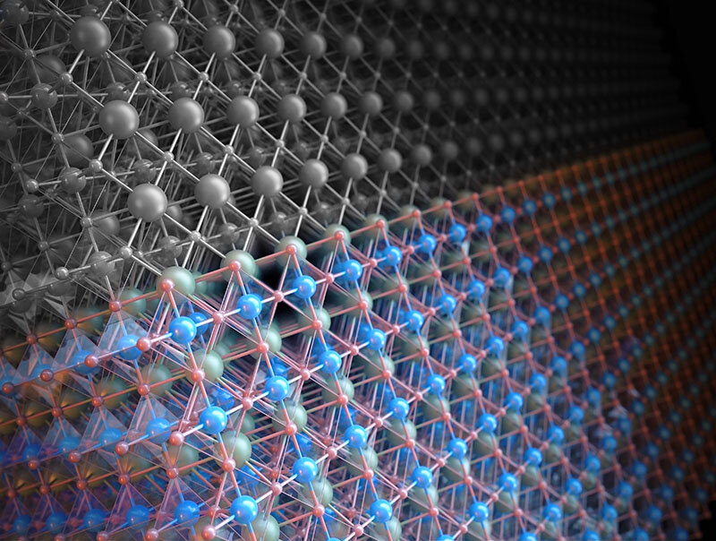 A study shows setting a single layer of atoms on the surface of a catalyst can improve it