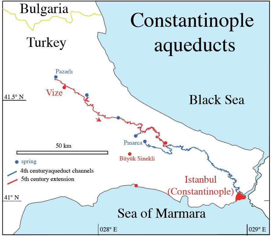 The Aqueduct of Constantinople: Managing the longest water channel of the ancient world