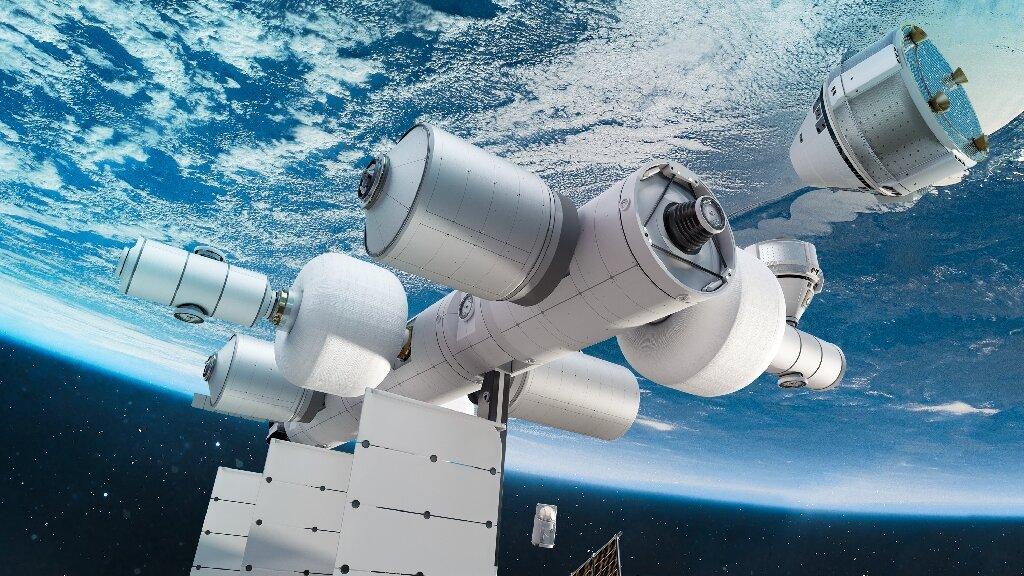 Bezos' Blue Origin announces plans for private space station