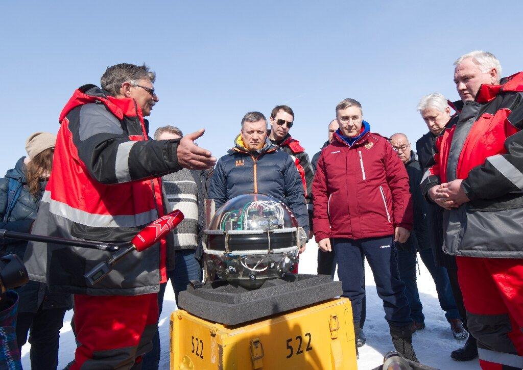 Russia deploys giant space telescope in Lake Baikal