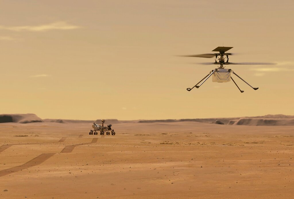 NASA space copter ready for first Mars flight