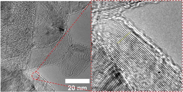 Tires turned into graphene that makes stronger concrete