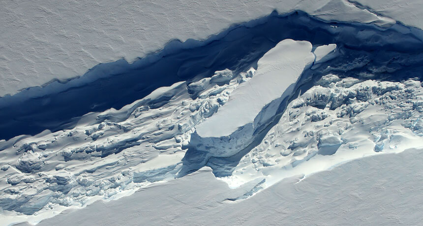 Scientific team uncovers additional threat to Antarctica's floating ice shelves