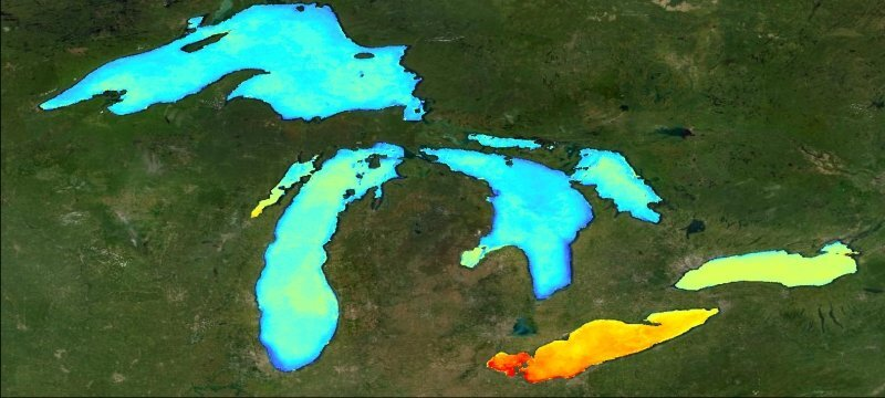 World's largest lakes reveal climate change trends - Phys.org