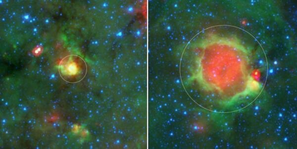 'Yellowballs' offer new insights into star formation