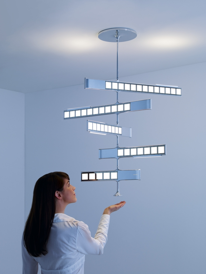 Oled Based Interactive Lighting Concepts