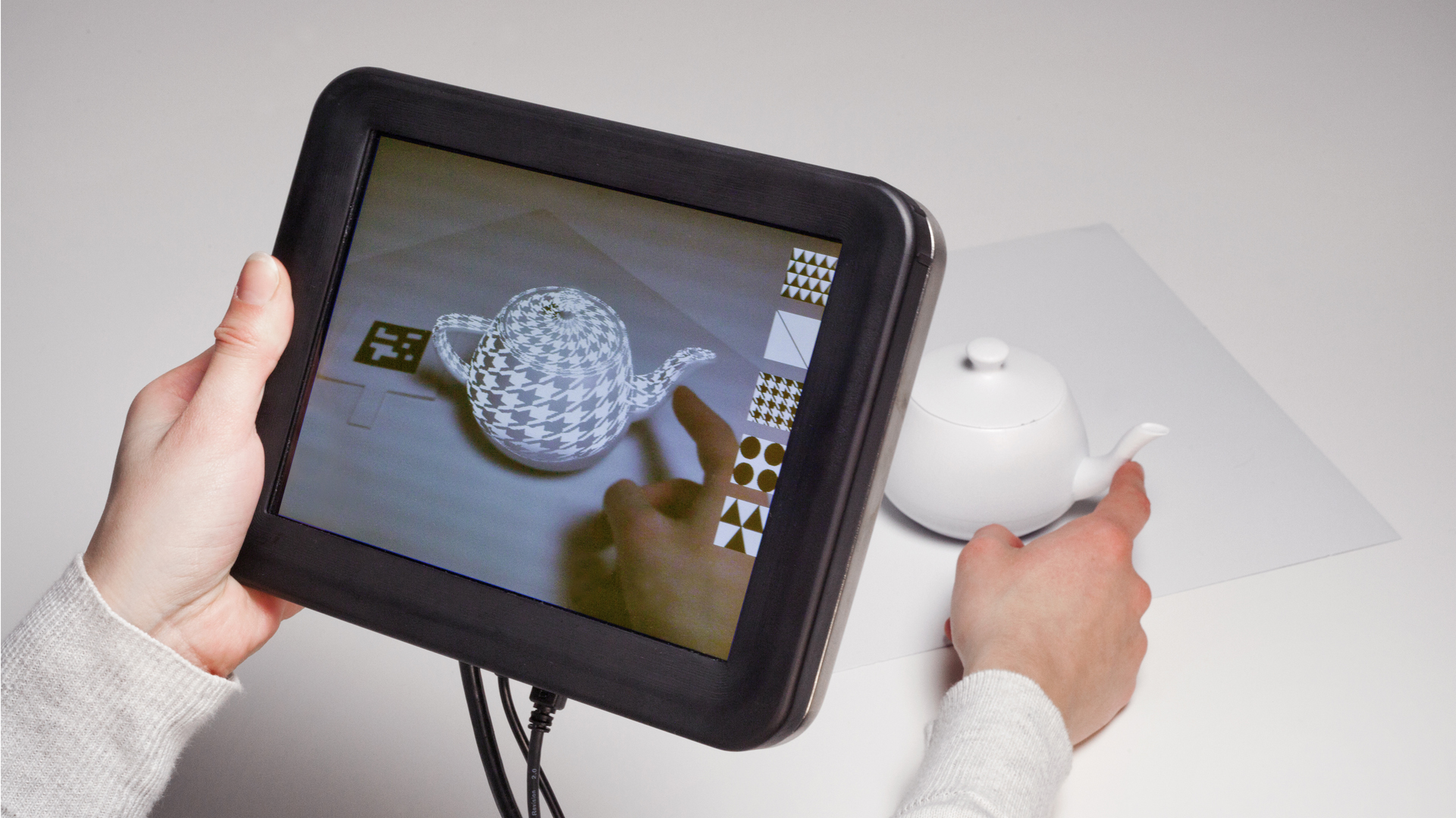 Disney Researchers Add Sense Of Touch To Augmented Reality