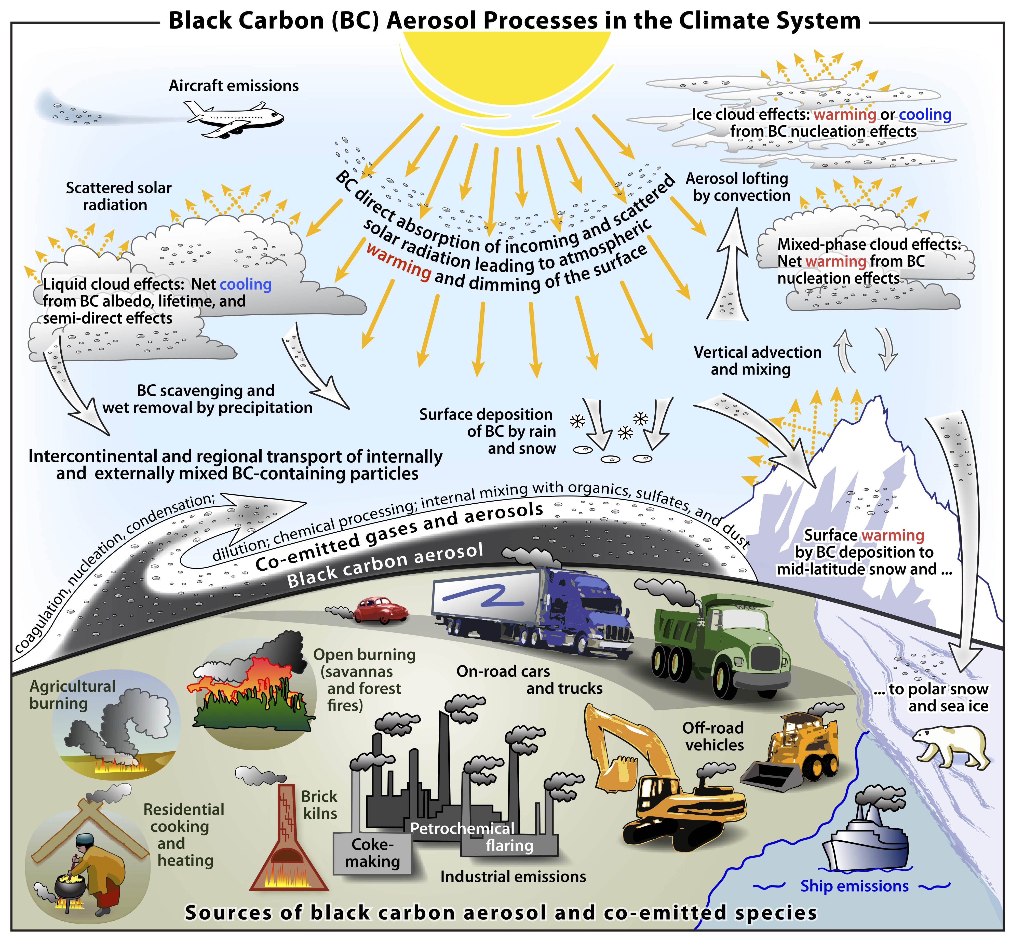 Black Carbon Larger Cause Of Climate Change Than Previously Assessed