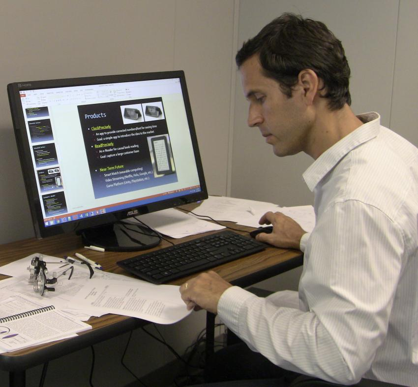 New technology could make digital text, images on computer screens easier  to see