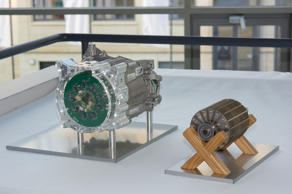 Highly Integrated Electric Motor Unifies Powertrain