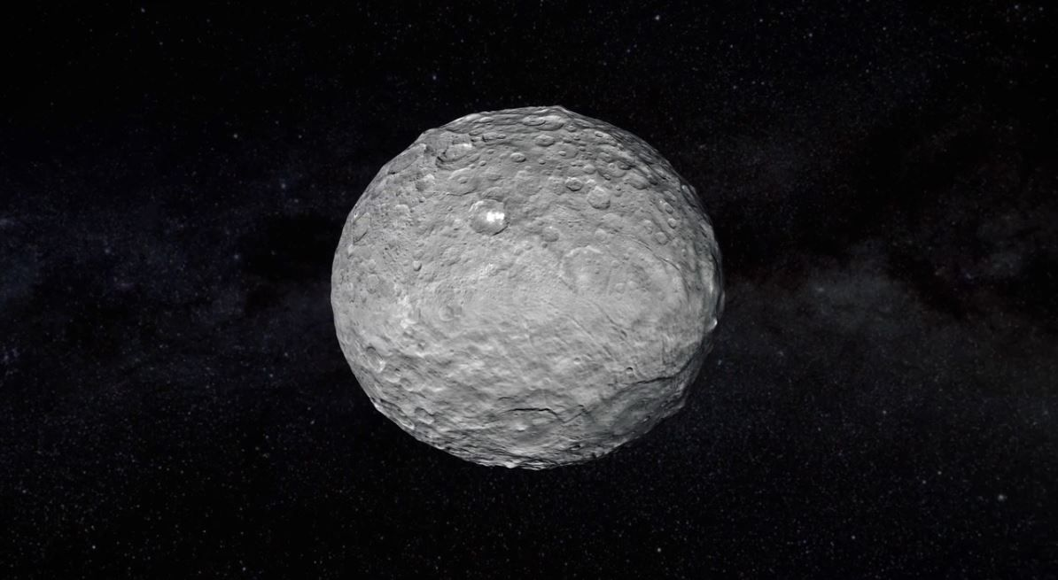Physicist proposes human-populated mega-satellite orbiting Ceres