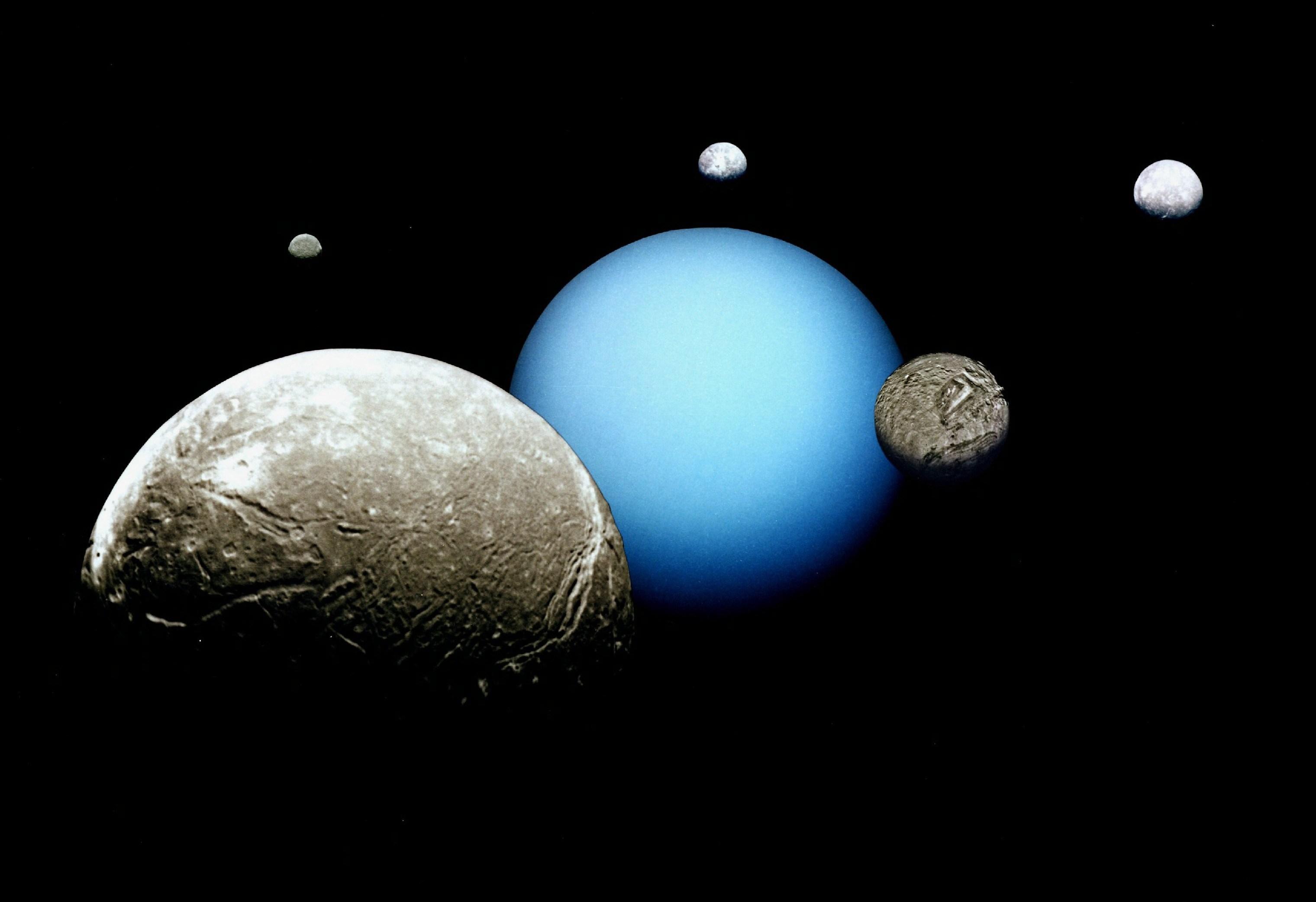 Uranus' moon Umbriel