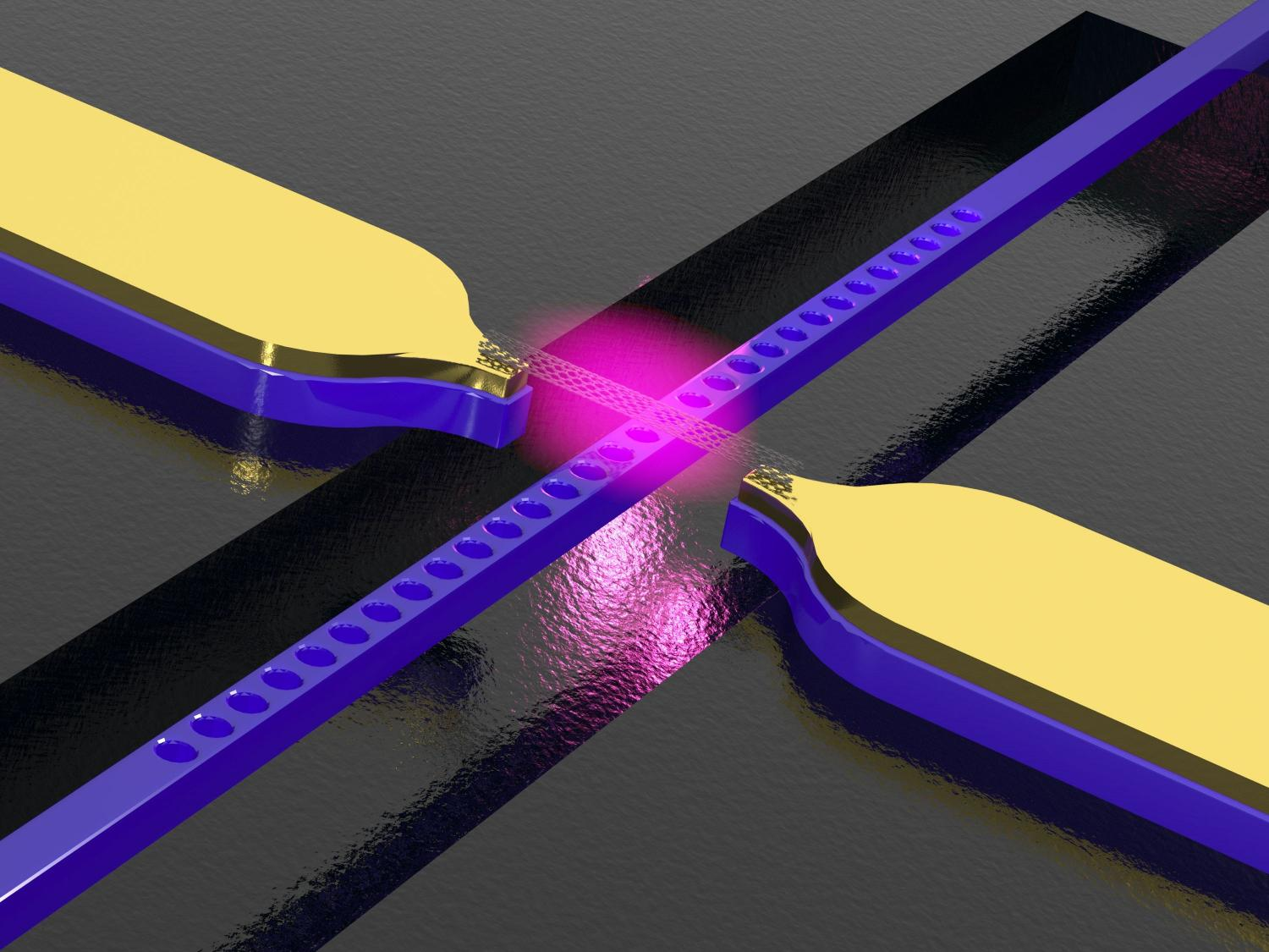 Waveguide with integrated carbon nanotubes for conversion of ...