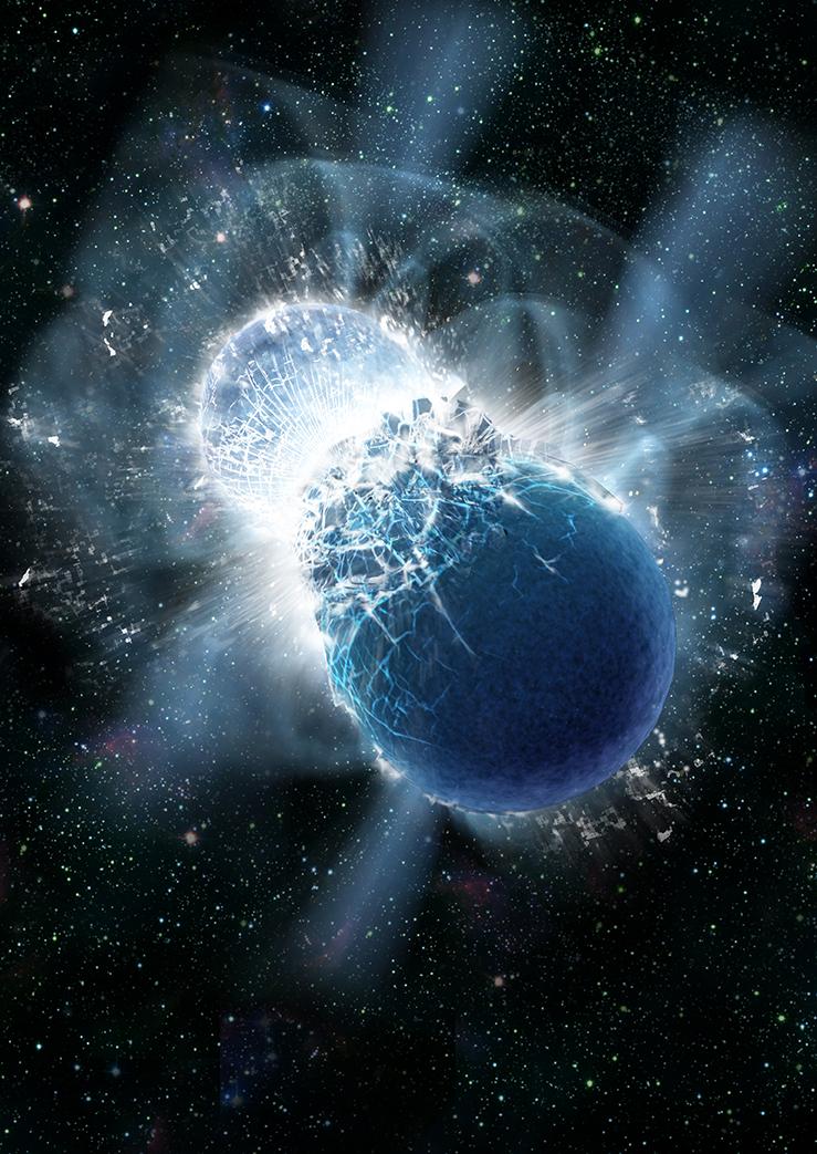 Galactic 'gold mine' explains the origin of nature's heaviest elements