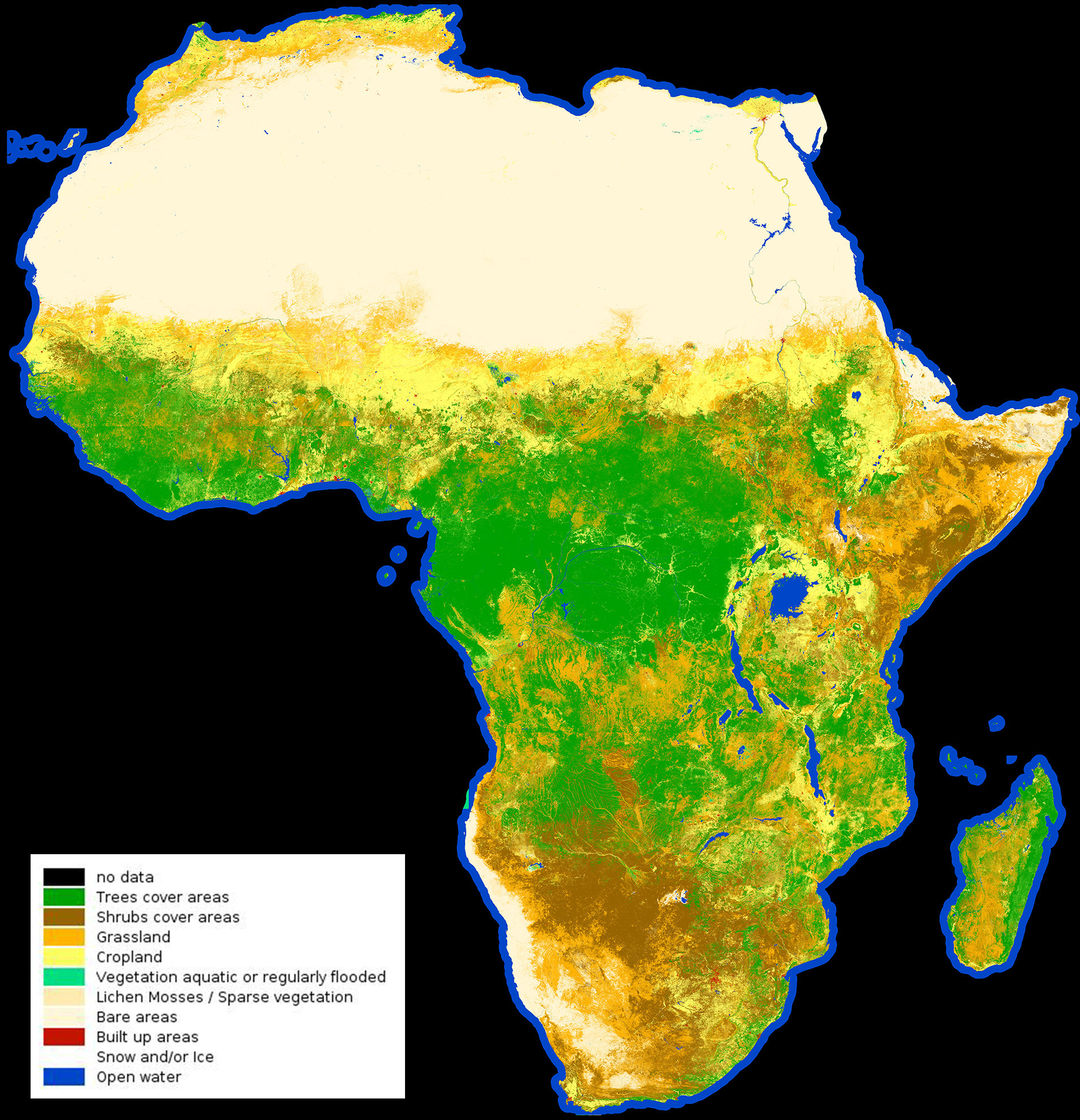 Image: African land cover