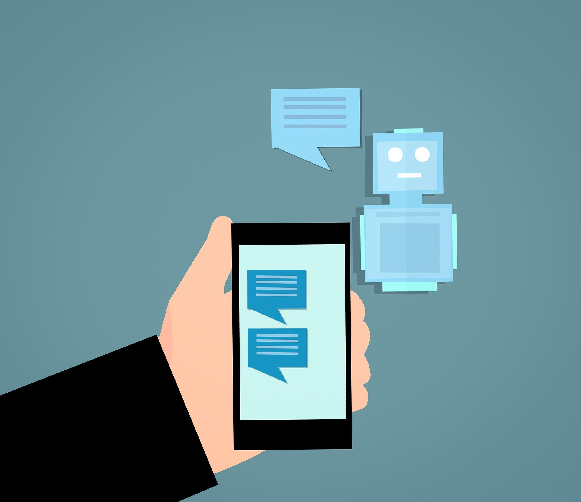 Chatbots Can Ease Medical Providers' Burden, Offer Guidance to Those with COVID-19 Symptoms