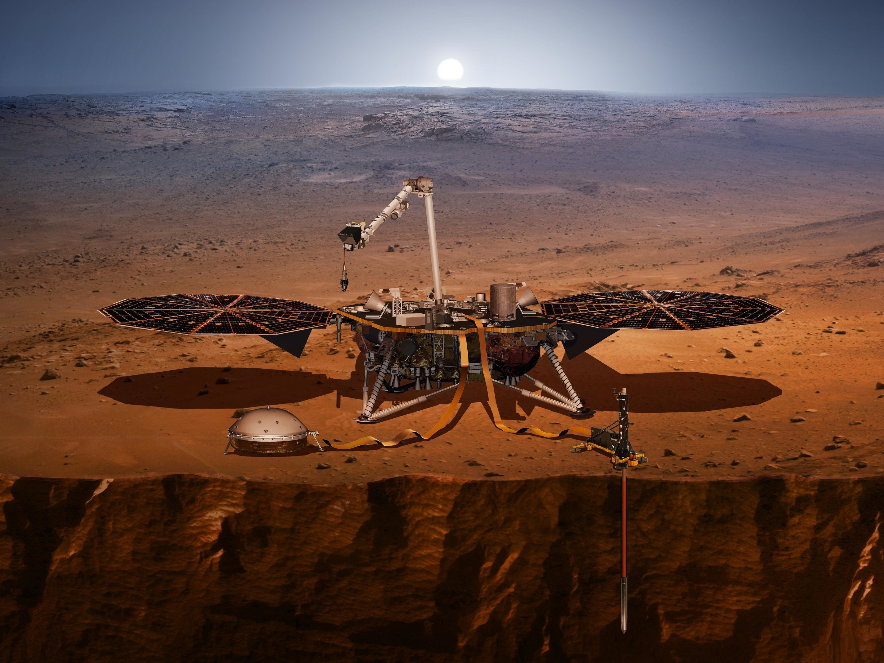 NASA's InSight detects two sizable quakes on Mars