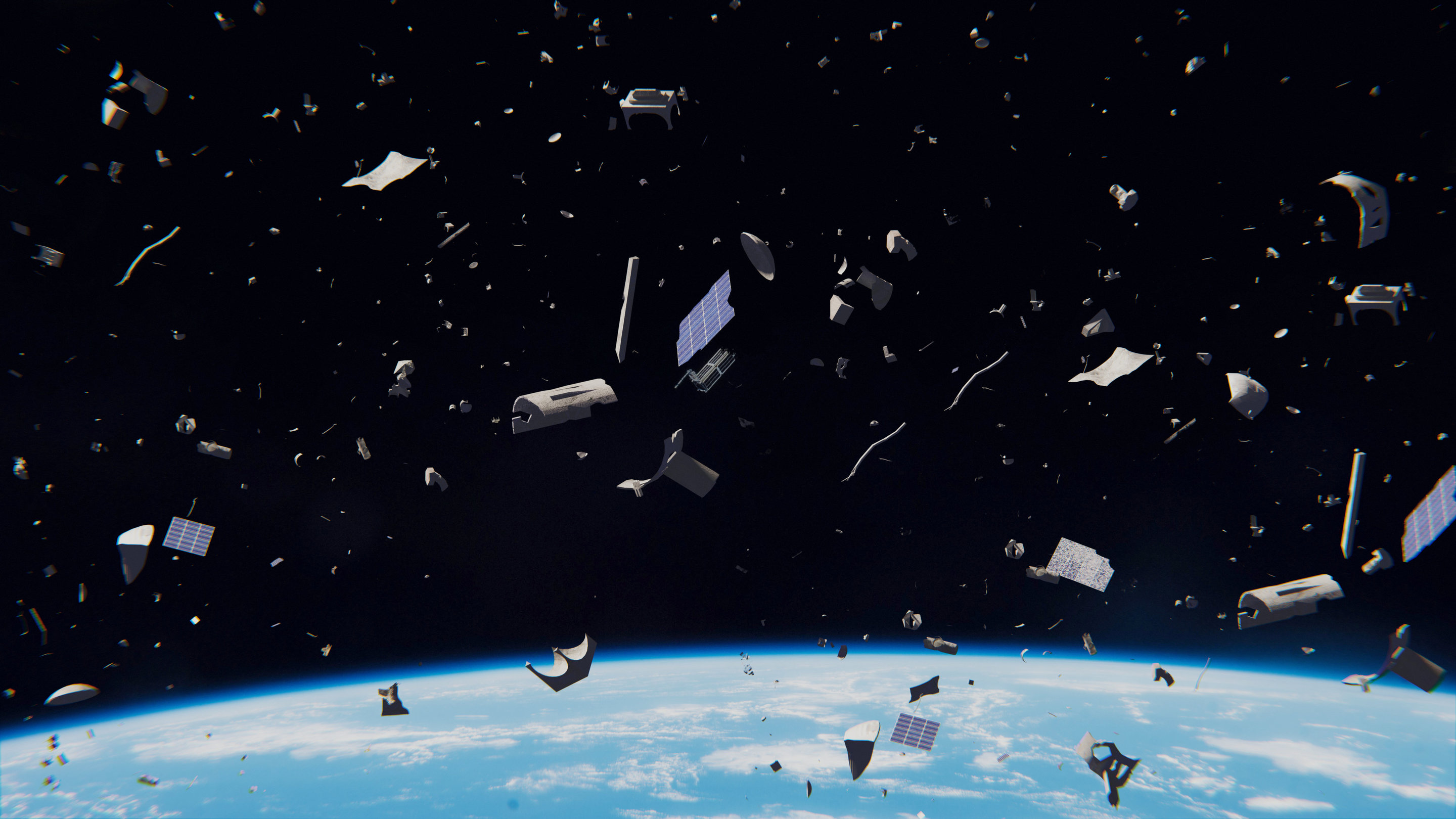 Space as a garbage dump