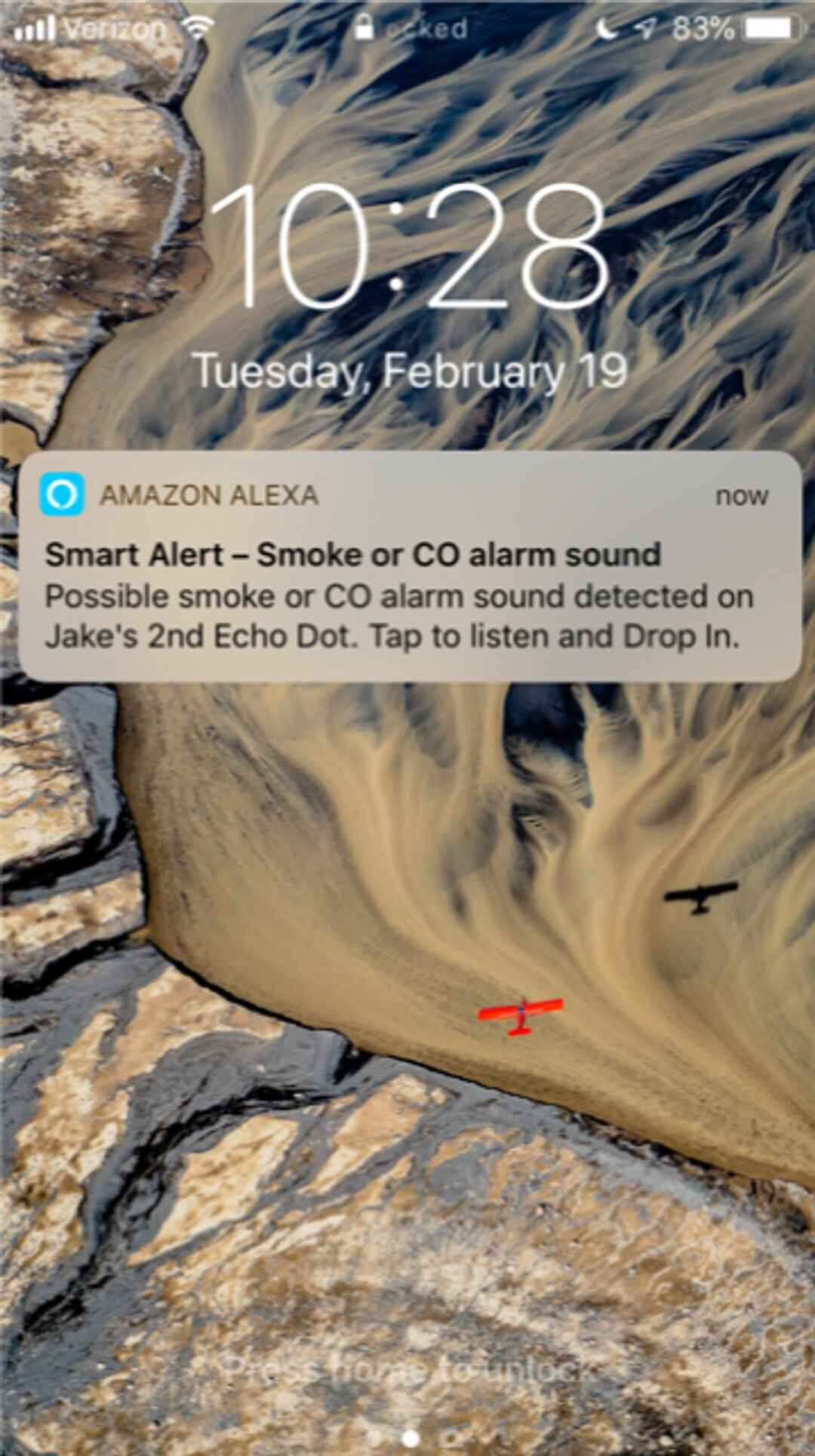 Alexa can now listen for alarms—or, perhaps, a cheating