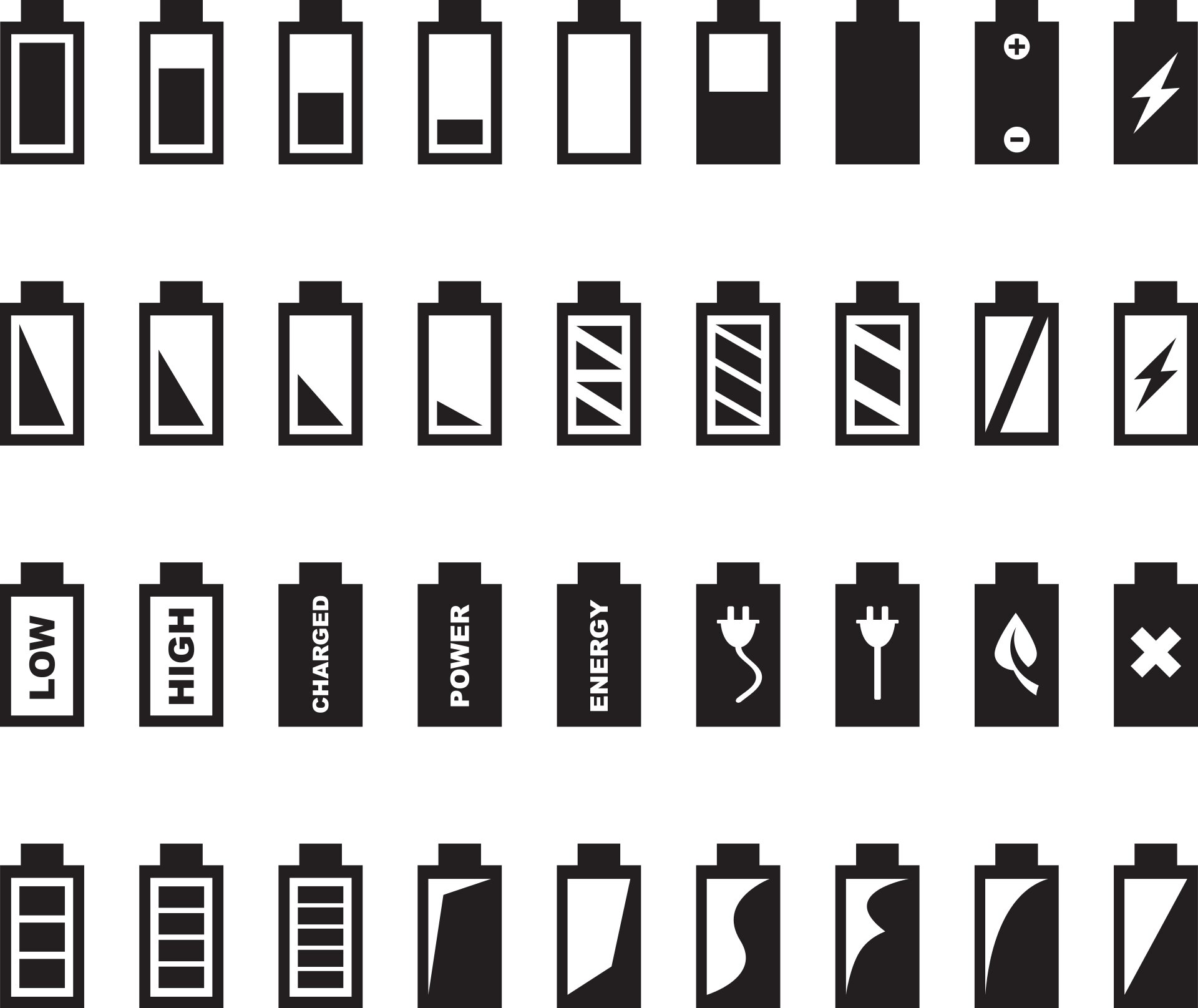 Battery Icons Shape Perceptions of Time and Space and Define User Identities