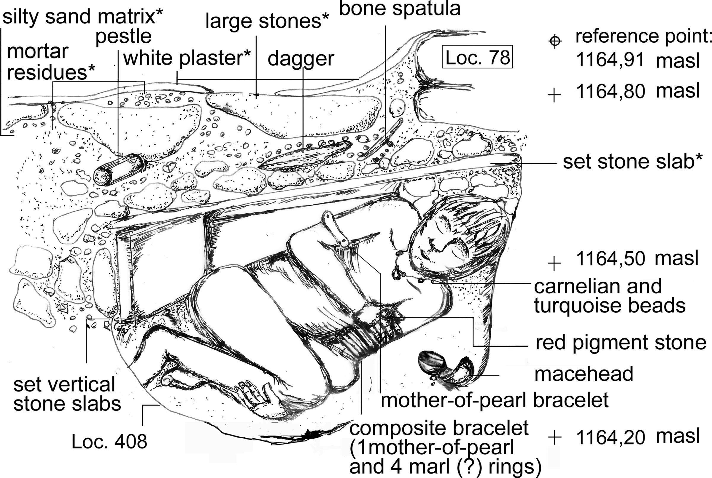 Clues to early social structures may be found in ancient extraordinary graves