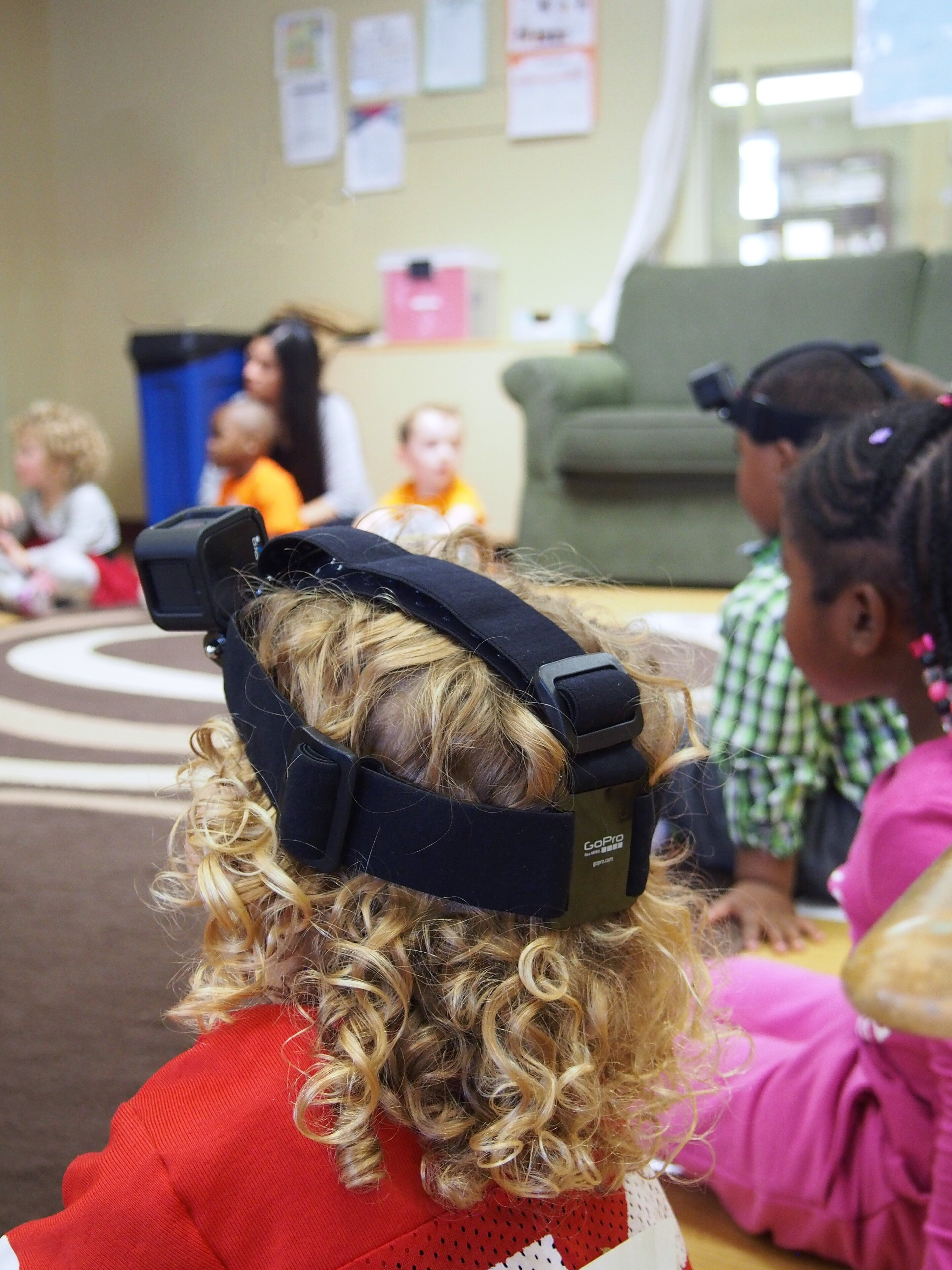 Kids wore video cameras in their preschool class, for science