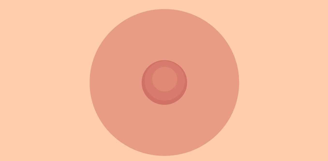 Men love nipples why Big Areolae