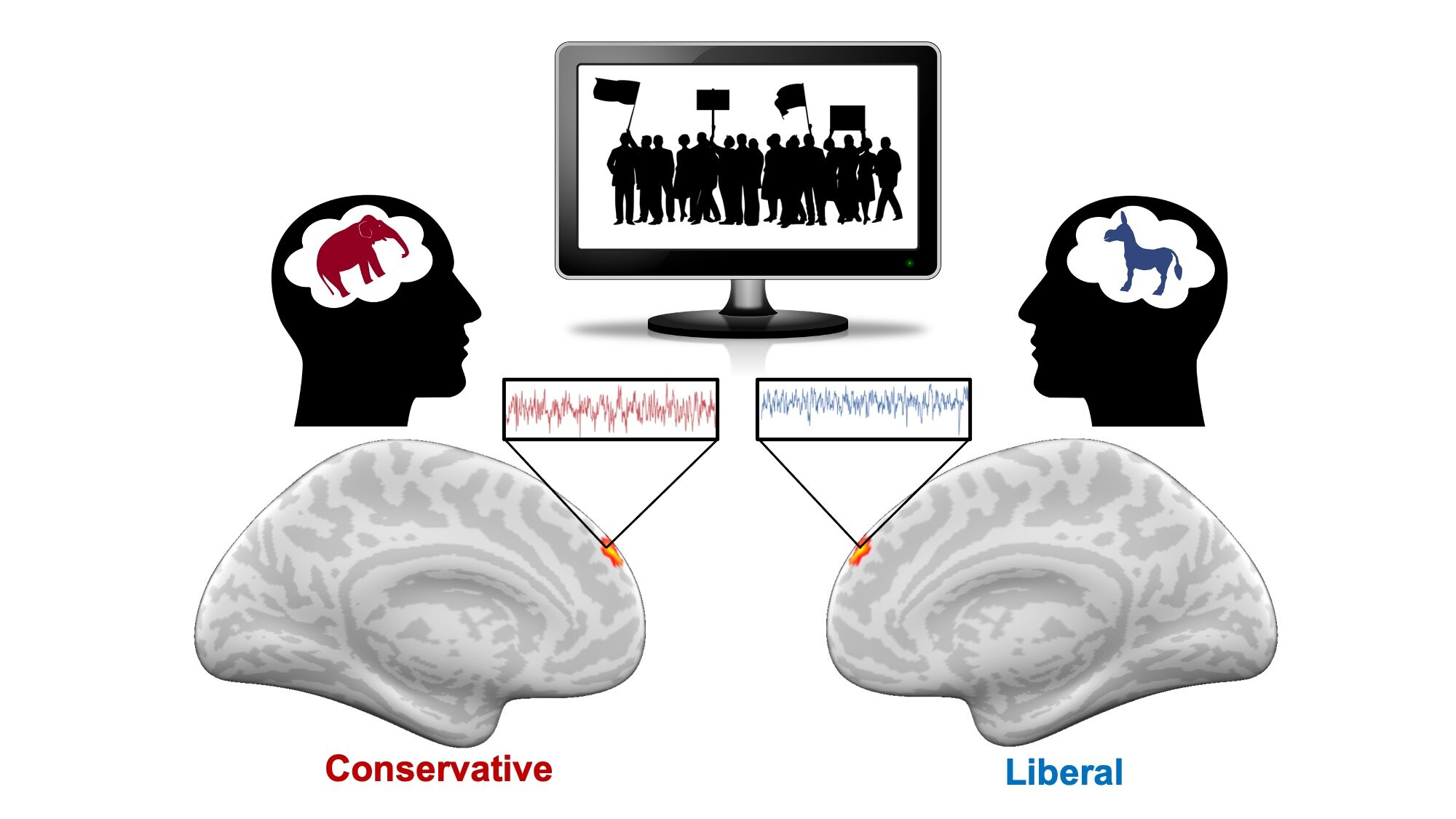 Hot-button words trigger conservatives and liberals differently