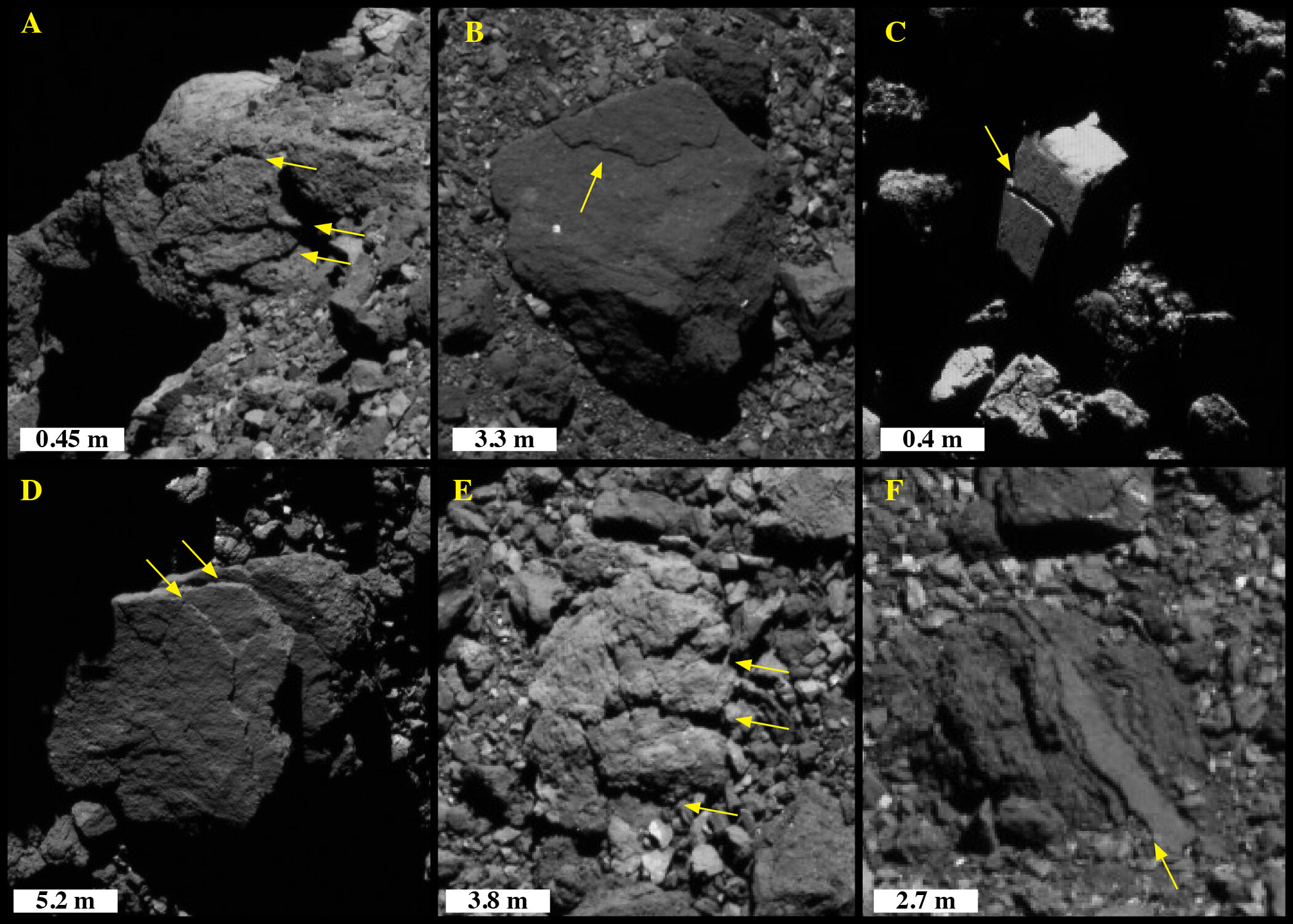 Studying craters on asteroid Bennu shows how long it has been orbiting near Earth