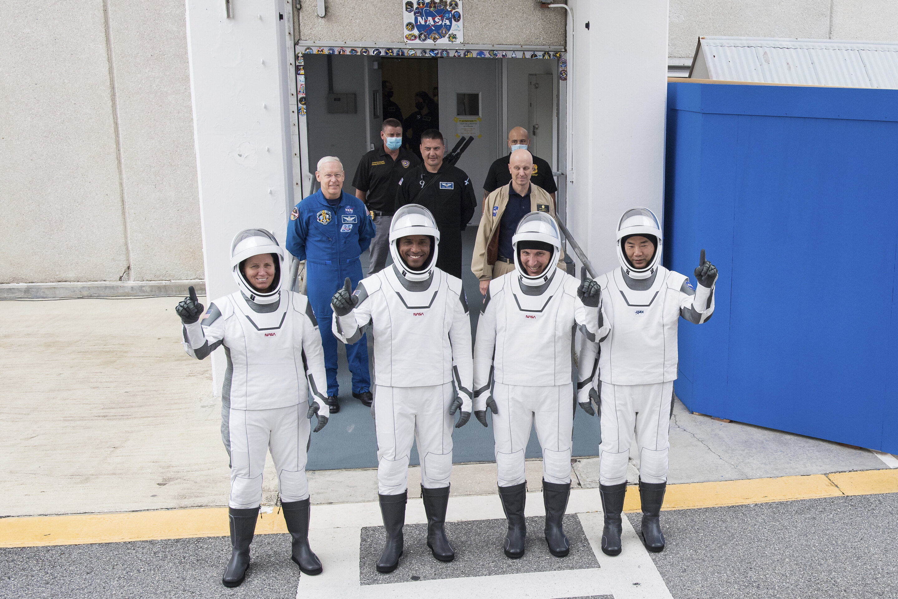 SpaceX crew flight delayed; Musk gets mixed COVID-19 results